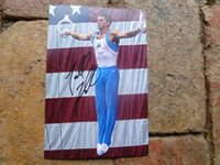 AMERICAN GYMNAST Todd Thorton HANDSIGNED 6x4 photo