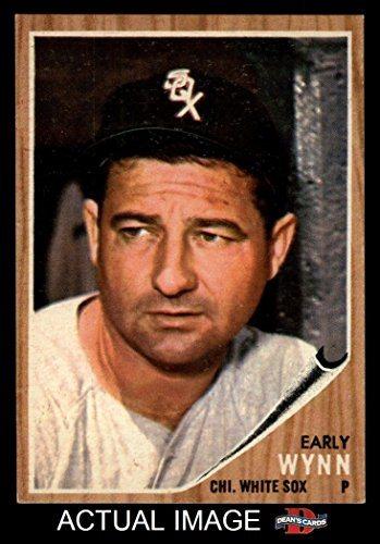 1962 Topps 385 Early Wynn Chicago White Sox Baseball