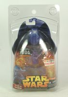 Star Wars EP3 Revenge Of The Sith Holographic Yoda Toy R Us Exclusive