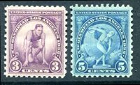 Lot id: 6794 - Olympic Set 718 - 719 MintScott: Olympic Set 718 - 719 Mint Never Hinged. Stock Photo, Your Stamp Will Be Slightly Different.