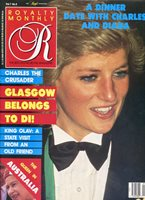 PRINCESS DIANA ~~ UK Royalty Monthly Magazine ~~ June 1988 ~~ D-3-2