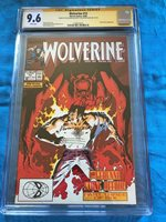 Wolverine #13 - Marvel - CGC SS 9.6 NM+ - Signed by Peter David, Kevin Nowlan