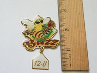 Indiana Buzz Baseball Lapel Pin (#183)