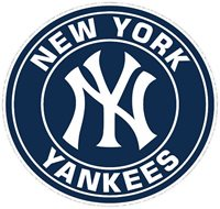 """New York Yankees MLB Decal """"Sticker"""" for Car or Truck or Laptop"""