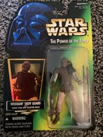 1996 Kenner Star Wars POTF, Weequay, sealed. (12C)