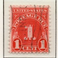 United States of America 1930-32 Early Issue Fine Used 1c. 307023