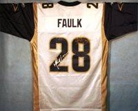 Marshall Faulk / Kurt Warner Autographed Rams Jersey
