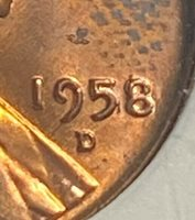 1958/7-D Lincoln Cent ANACS Breen-2225 MS65 Red Best Price on Ebay CHN