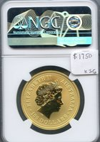 2002 Australia G$100 Year of Horse NGC MS70