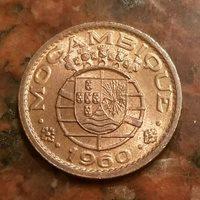 1960 MOZAMBIQUE 10 CENTAVOS COIN - #A975