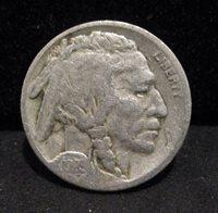 1923-S Buffalo Nickel - Fine ENN COINS