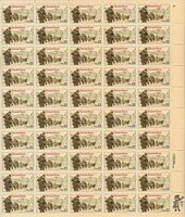 US 2152 @ (1985) 22c - MNH - VF/XF - Veterans Korea - Sheet of 50