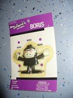 "Jesco - Bullwinkle and Friends Bendable - Boris 3.4"" Action Figure - dated 1986"