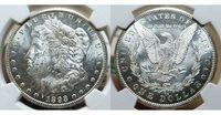 1893 CC $1 Morgan Silver Dollar NGC MS 62