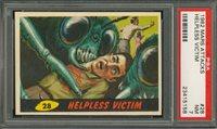 "1962 Mars Attack #28 Helpless Victim PSA 7 NM """"1962 Mars Attack #28 Helpless Victim PSA 7 NM """""