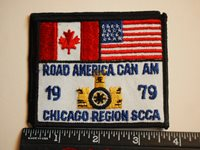 1979 Road America Can Am Racing Patch Chicago Region