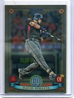 2019 Topps Gypsy Queen Chrome Box Topper #214 David Peralta Diamondbacks