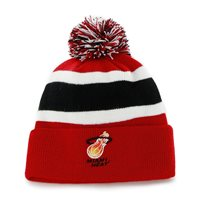 Miami Heat NBA Adult Red Breakaway Cuffed Pom Beanie/Hat