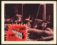 CARIBOU TRAIL Lobby Card (VeryFine+) '54 ReRelease Randolph Scott 15330
