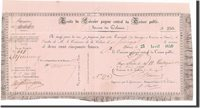 250 Francs Senegal Banknote, 1850-04-23