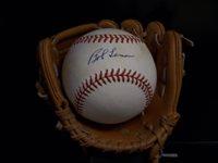 Bob Lemon Signed Baseball