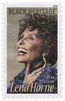#5259 – 2018 First-Class Forever Stamp - Black Heritage: Lena Horne