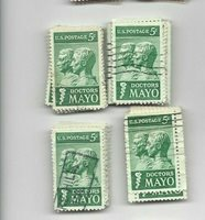 U.S. Stamps Scott 1251 .5 Cent Doctors Mayo 100 used 4/6