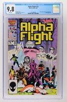 Alpha Flight #33 - Marvel 1986 CGC 9.8 Yuriko Oyama becomes Lady Deathstrike. X-