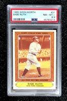 1985 Woolworth Babe Ruth #31 Baseball Card New York Yankees PSA 8.5 NM-MT+
