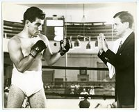 c. 1944 Boxing LARRY ANZALONE Vintage Photograph
