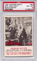 1964 Addams Family - Son, Now Don't Scalp Fester! #53 PSA 8