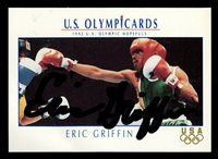 Eric Griffin #25 signed autograph auto 1992 Impel U.S. Olympic Hopefuls Card