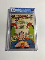 Superman 247 Cgc 9.8 Double Cover !!!!! Super Rare Dc Comics Bronze Age