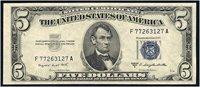 $5 1953B F1657. Smith-Dillon. Gem Uncirculated.