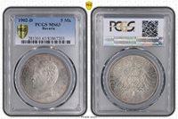 lovely 1902-D 5 Mark PCGS MS63 Bavaria #A2