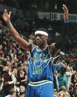 Timberwolves JONNY FLYNN Signed Auto 8x10 Photo COA!