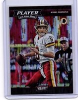 Kirk Cousins HOBBY SHOP PROMO # 12 / 75 Redskins Player Of The Year
