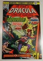 TOMB OF DRACULA #41 FEB 1976 MARVEL COMICS GENE COLAN BLADE APP VF 8.0