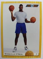 CLASSIC 1993 93 SHAQUILLE ONEAL ROOKIE RC DRAFT PICK #104, Magic, Lakers, HOF