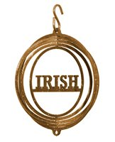 SWEN Products IRISH Tini Swirly Christmas Tree Ornament