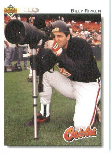 1992 Upper Deck 250 Billy Ripken Baltimore Orioles Baseball Card