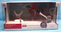 Disney Store Exclusive Star Wars The Last Jedi Finn & Ski Speeder Set
