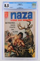 Naza #3 - CGC 8.5 VF+ Dell 1964 -Painted cover- 2nd HIGHEST GRADE!