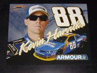 2016 KEVIN HARVICK #88 ARMOUR NASCAR POSTCARD