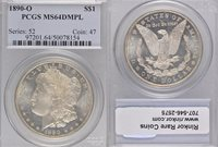 1890-O MS64 DMPL PCGS $1