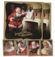 #5332-36 – 2018 50c Sparkling Holidays, 6 stamps, including a 2nd Free Souvenir Sheet