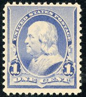 #219 Mint NH VF, Usual slightly disturbed gum, 2020 Scott Cat. $65 Item Number: 07 Our Selling Price: $35.00