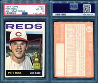 1964 TOPPS #125 PETE ROSE ALL-STAR ROOKIE PSA 4 (2847)