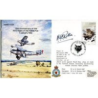 RAF WW2 Burma Wing commanding Officer signed cover