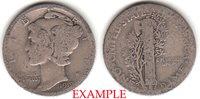 Ten Cents 1919-D 10c